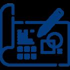 Symbol für Projektmanagement